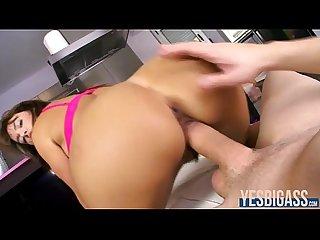 Huge booty Franceska jaimes gets her juicy pussy ripped