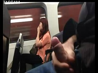 Flashing on train
