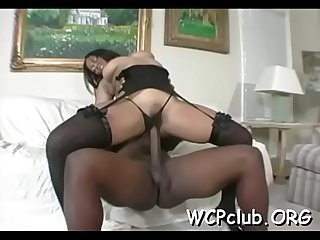 Fascinating interracial anal screw would not leave u calm