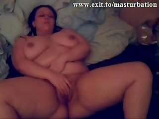 Busty german milf toying to an orgasm