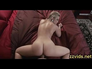 Booty blonde Alexis Texas fucked on bed