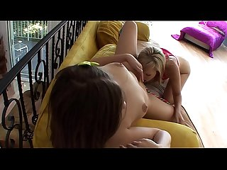 Hot brunette Ashlynn Leigh gets her ass rimmed by a hot blonde Hayden Winters