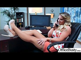 Office Horny Girl (Cali Carter) With Big Melon Tits Enjoy Hard Bang mov-14