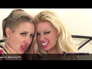 shebang.tv - MICHELLE THORNE & ANGEL LONG home hardcore show