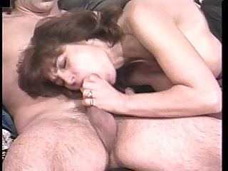 A horny mature gal bangs her young lover period