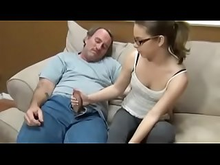 Father and daughter fuck in home 1020b