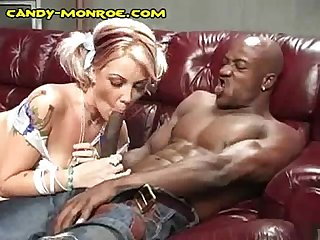 Trading interracial oral fun