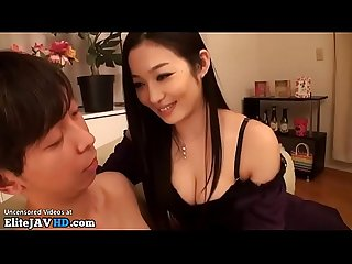Japanese most beautiful milf fucks young student more at elitejavhd com