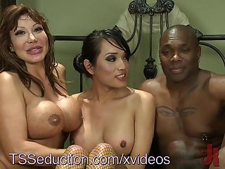 Ts stripper threesome