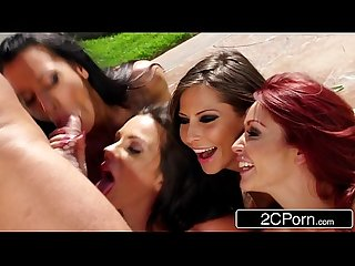 Slutty car wash bj kirsten price madison ivy Monique alexander rachel starr