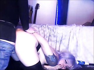 Kinky lass has her ass fucked by a shemale
