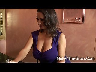 Persia monir big tits brunette get fuck and got a creampie