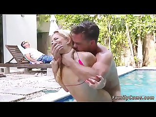 Mom and playfellow's daughter fuck boss mother gives Summer Seduction