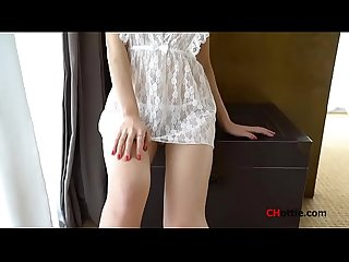 Chinese Model: Zhou Yanxi(�?�妍�?) shows her sweet pussy for more videos..
