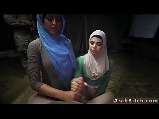 French Arab and Belly dance sex sneaking in the base