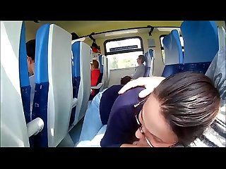 Risky public handjob swallow on train wholedc com