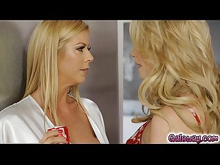 Mia seduces her new stepmom