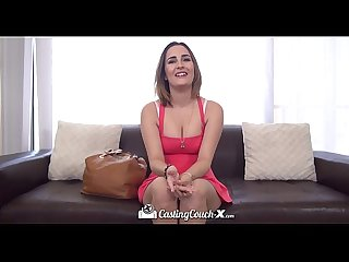 Sexy Mia Scarlett gets fucked on the casting couch
