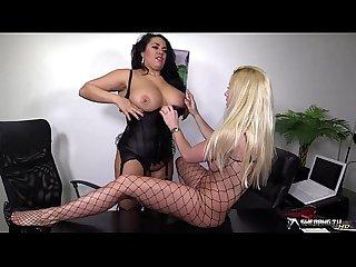 Dani o neal sami j in hot lesbian action show