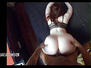 Pov naughty redhead gives amazing blowjob amateur jayjademoon
