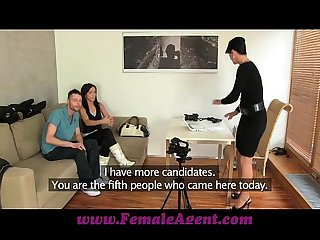 Femaleagent jealous casting won t share her fiance