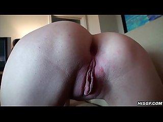 Fingered amateur sucks dick