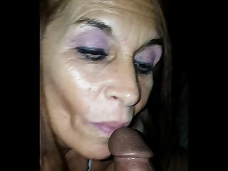Excellent pov blowjob cum swallow