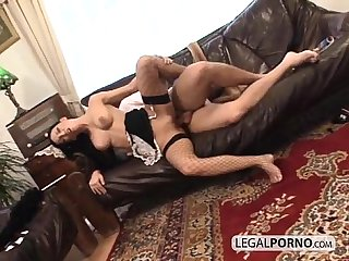 Horny maid with awesome boobs fucked hard nl 16 03