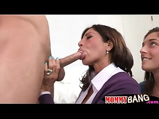 Mature Piano teacher Tanya tate threeway