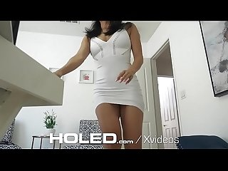HOLED Interview anal fuck with great rack asian Vicki Chase
