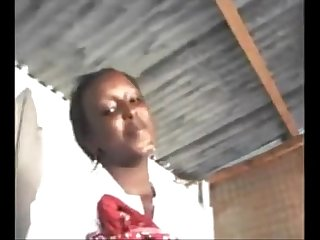 Kenya teen sucking dick like a pro