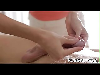 Oil massage movie