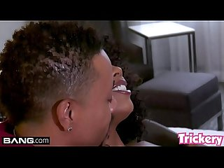 Trickery - Ebony babe Misty Stone gets fucked by a BBC