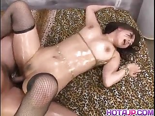 Japanese Av model is fucked and screams