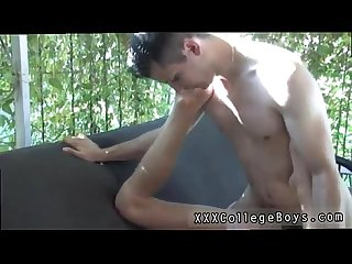 Sweet small school gay sex movie and old lady and new boy gay sex