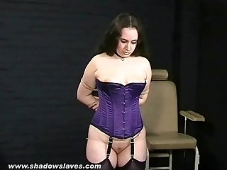 Amateur spanking and electro pain of bbw slavegirl nimue in humiliating british