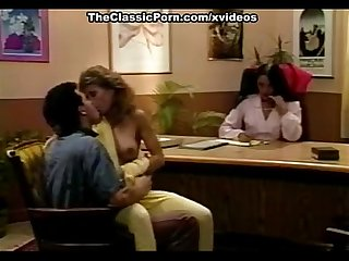 Blondi tony montana in classic pornstars have wild sex in the office