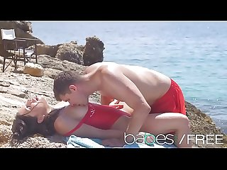 Baewatch an Xxx parody featuring ally breelsen kristof cale babes