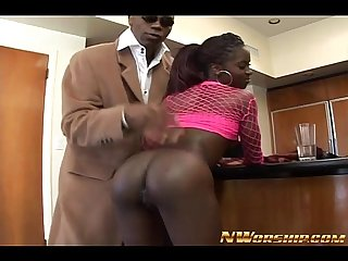 sexy ebony asshole fucked hard