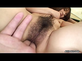 Japanese chick with tiny tits, Kimoko Tsuji got fucked, uncensored