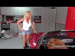 Mechanic Deauxma Fucks Her Customer for Repairs!