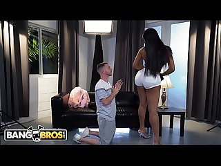 Bangbros thicc black chick moriah mills fucks the photographer comma tony rubino