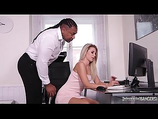 Interracial bangers crave big black monster cock penetration of Mary Kalisy