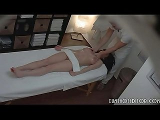 Young teen slut getting a private massage