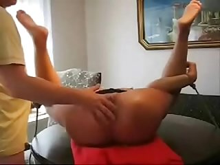 Extreme ! Abusing ass hole of my slut wife
