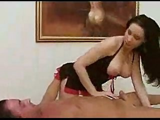Jade jadore as masseuse sucks client