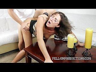 Stepson shows sexy milf more than his homework