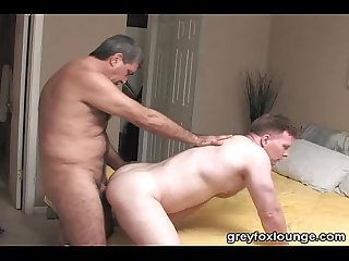 Two hairy latin mans fuck and suck