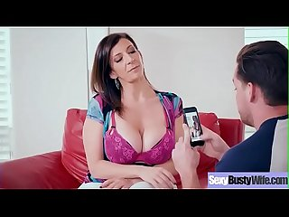 Hardcore Sex Tape With Horny Big Boobs Hot Wife (Sara Jay) movie-22