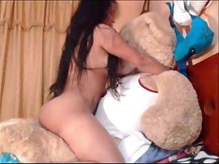 Big tits latina fucks teddy bear sexycamgirls mooo com